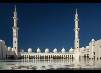 Sheikh Zayed Mosque, Abu Dhabi by Peter Tormey