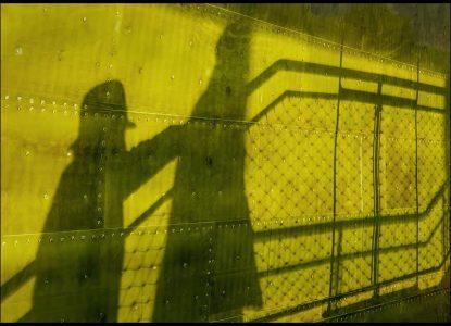 """Behind You!""  by Alan Shufflebotham"