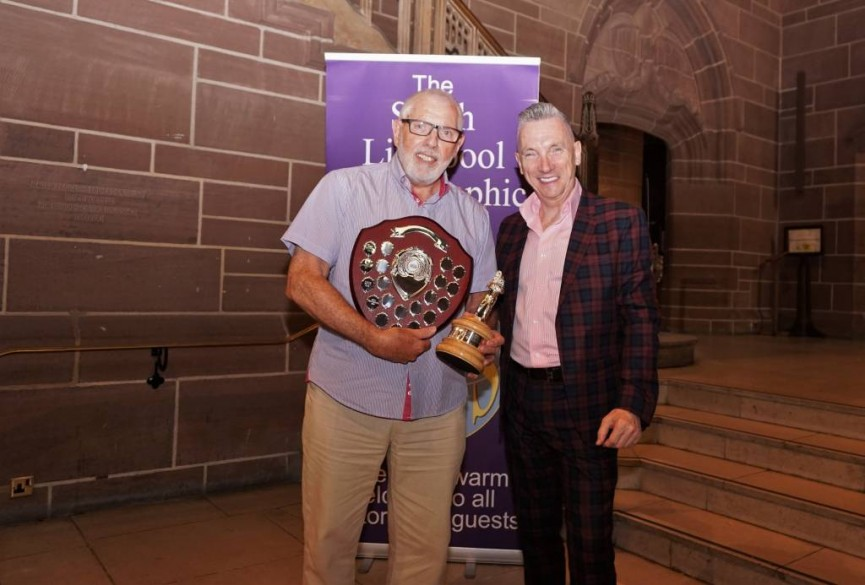 Bert Whittlestone is presented with the best overall PDI in the annual competition