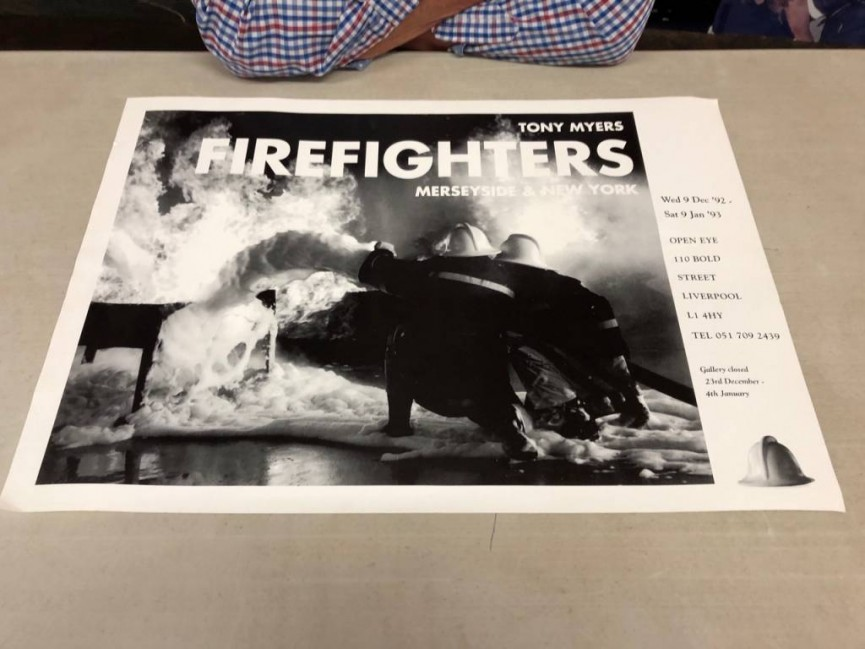 An Exhibition of Tony's Firefighting Images was shown by the Open Eye Gallery Liverpool in