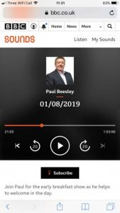 Barbara on Radio Merseyside