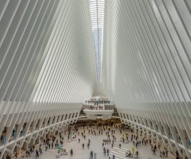 """Oculus Transport Hub, New York"" by Martin Reece.  This image has been chosen by the Royal Photographic Society for the cover of their current RPS Travel Journal.   Well done, Martin!"