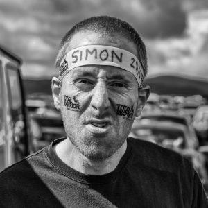 "First Place Mono Print - ""Simon"" by Ed Foy"