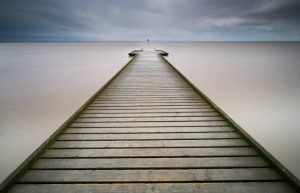 """First Place Colour Print and Best overall image.  """"Pier"""" by Simon Rahilly LRPS"""
