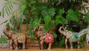 """Trio of Elephants"" by Ann Roberts"