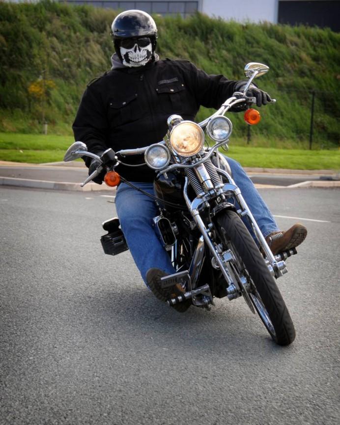 """Angel on 2 Wheels"" Dave Worthington"