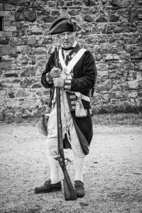 Ed Foy Dressed in1791 Uniform