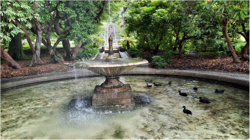 Jon T- Holker Hall Fountain