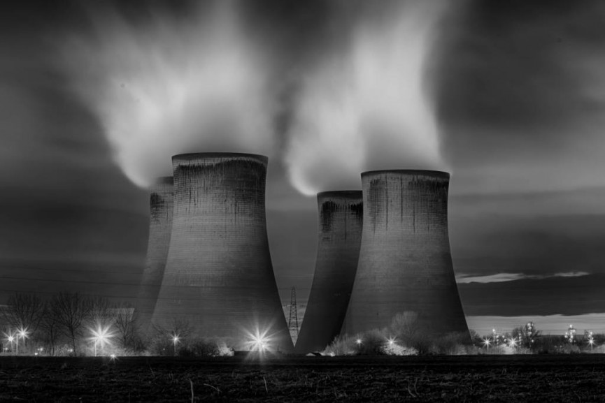 "Second Place - ""Cooling Tower"" by Les"