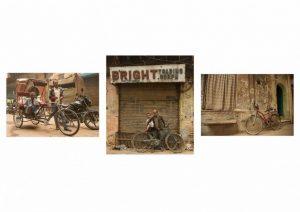 Sarah Bevan - Indian Bikes