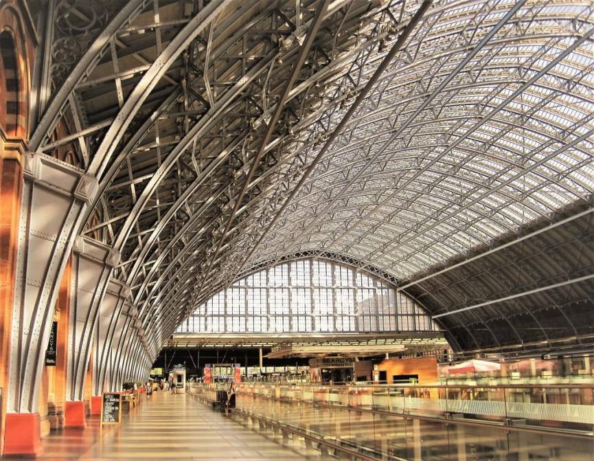 St.Pancras Station - Ann Roberts