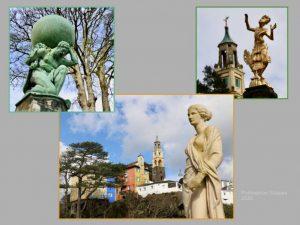 Tim Evans - Portmeirion Statues