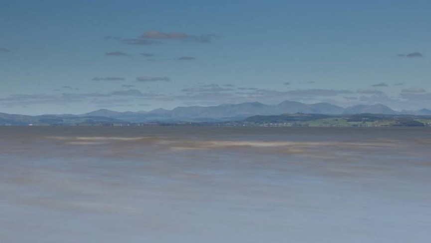 Lake District from Morecambe - Simon Rahilly LRPS