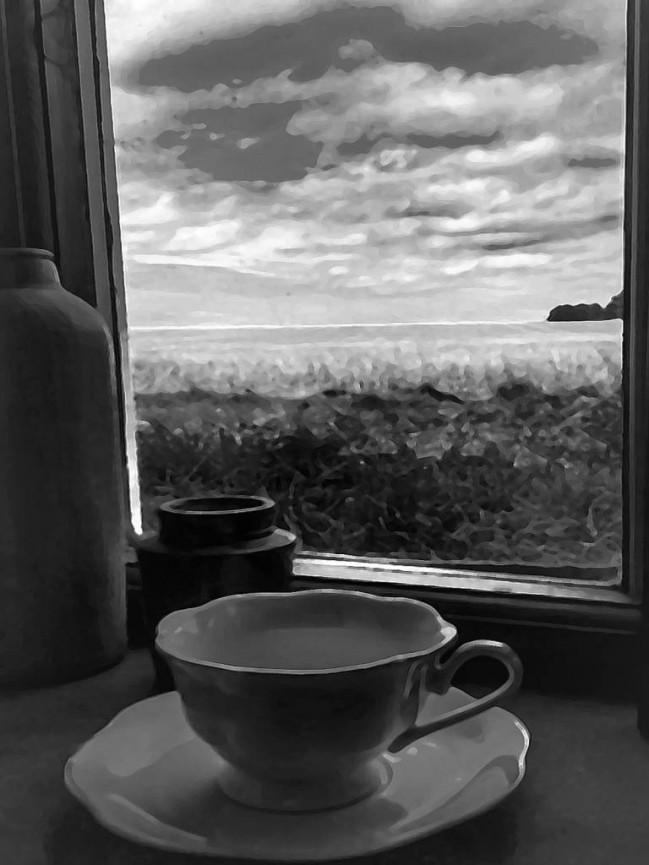Marie McG Storm in a teacup