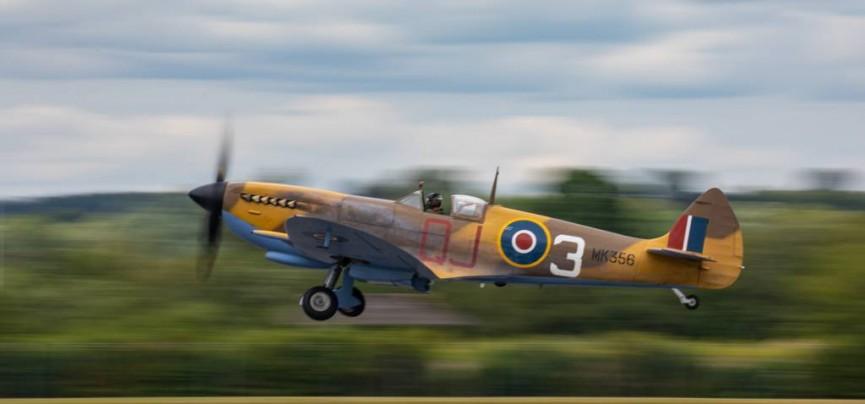 Martin Reece Spitfire MK356