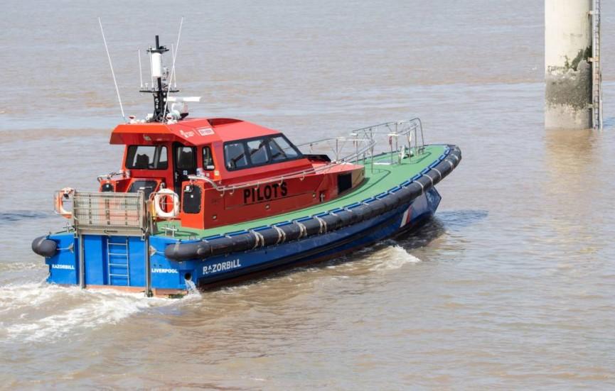 Mersey Pilots P Tormey