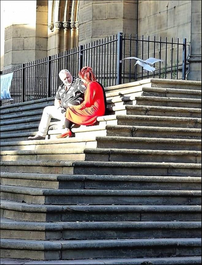 Pak Hung Chan_Sitting On The Steps of St Luke's