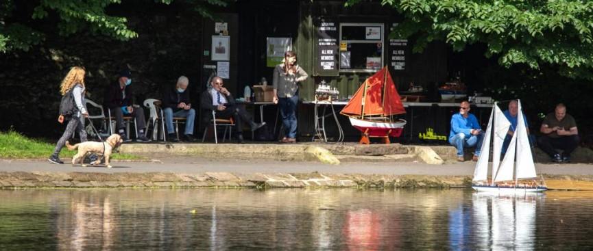 Sefton Park July Sunday