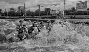 Simon Rahilly Rafting for Fun