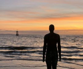 Gormley at Crosby  - Irene Drummond