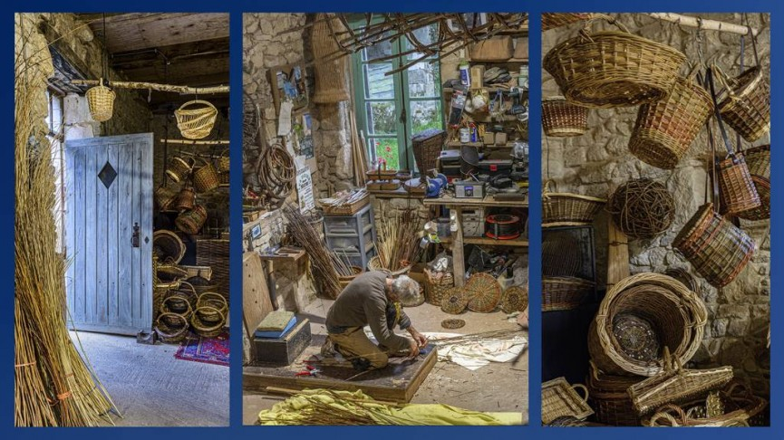 Ann Moore_Basket Weaver in his Workshop_DC