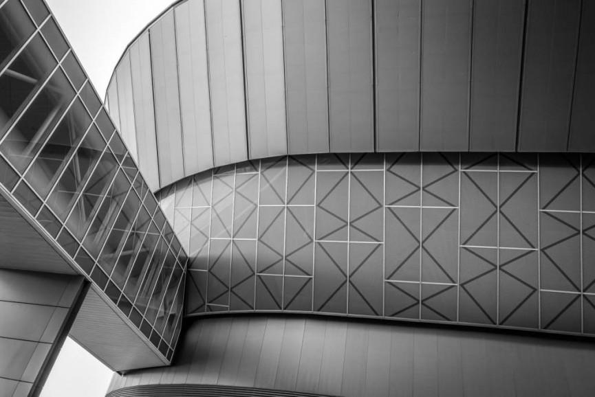Second Place - Exhibition Centre by Derek Gould