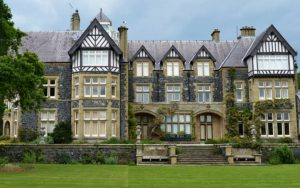 Bodnant Hall, Conway by Ann Roberts