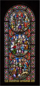 3rd Place - Stain Glass Window by Alan Cargill