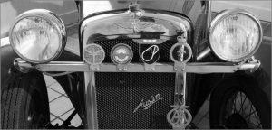 Austin 7 Sports Car 1934 by Barbara Green