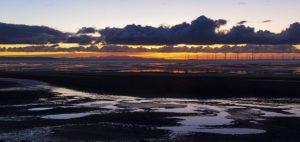 Crosby Sunset by Ian Rayner