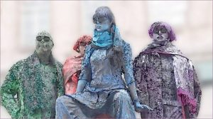 3rd Place - Watercolour Statues by John Thompson