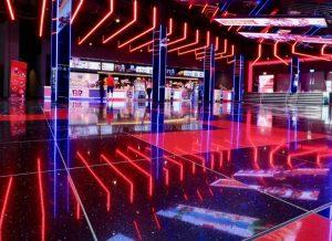 Cineworld Lights by Paul Hamilton