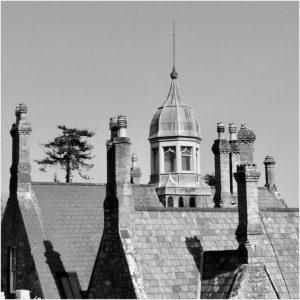 Victorian Roofscape, Plas Weddw by Tim Evans
