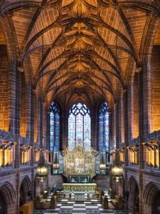 Lady Chapel, Liverpool Cathedral by Ann Roberts
