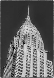 Very Highly Commended - Chrysler Building Detail by Martin Reece ARPS