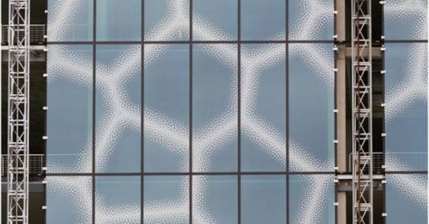 1st Place - Voronol Pattern Glazing Panels by Ed Foy