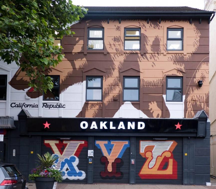 Alan Bornat Oakland Mural