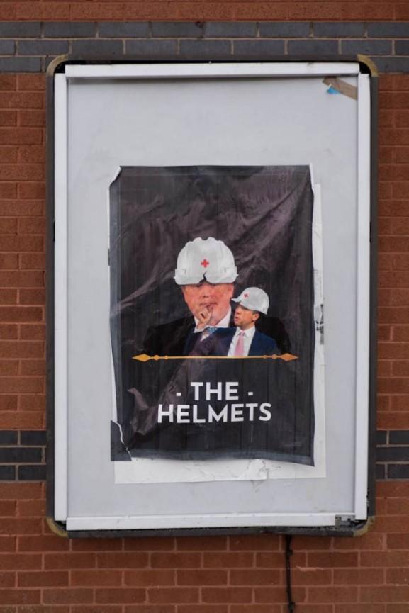 Alan Bornat The Helmets