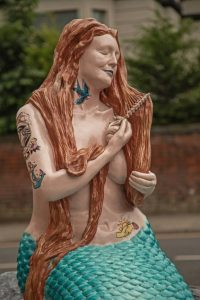 Peter Tormey Mermaid at New Brighton