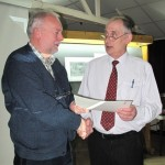 Alan Shufflebotham (L) and Gordon Jenkins