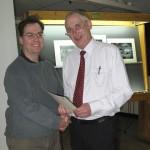 Eric Garnett (L) and Gordon Jenkins