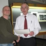 Joe McInally (L) and Gordon Jenkins