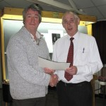 Michael  Lawson (L) and Gordon Jenkins