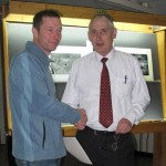 Thomas Jeffers (L) and Gordon Jenkins