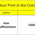 Best Colour Print in the Competition