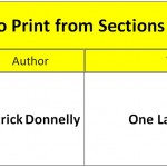Best Mono Print from Sections 2, 3 and 4