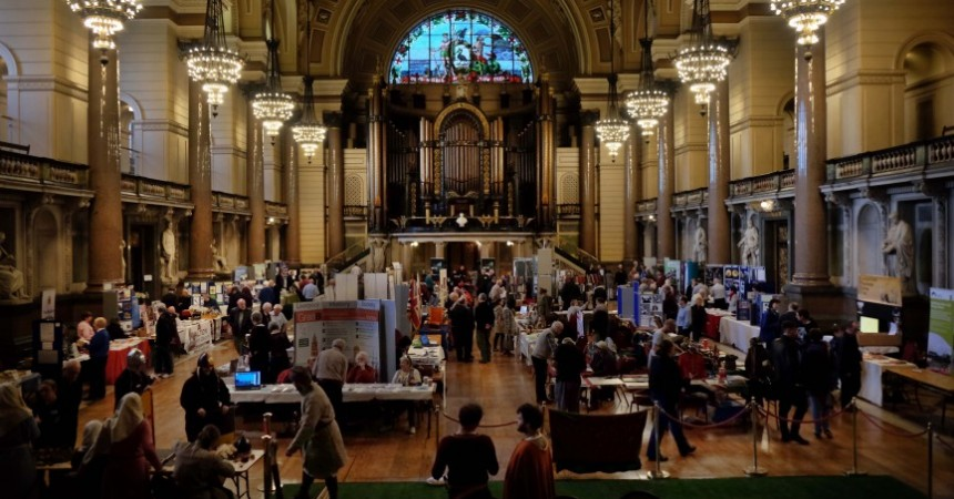 Good attendance and a great opportunity to network with other community groups too.  Our stand was one of the busiest!