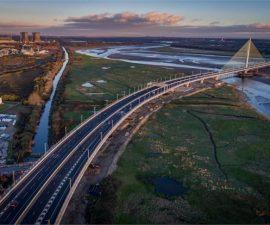 """""""Mersey Gateway"""" by Ian Kemp"""