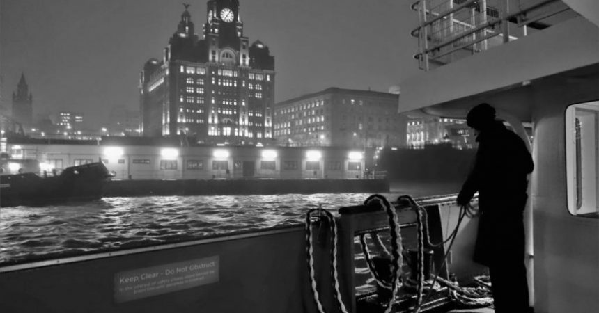 """!st Place - """" Liver Building From The Mersey Ferry"""" by Pak Hung Chan"""