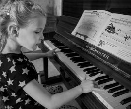 """""""Piano Practice"""" by Ann Moore"""